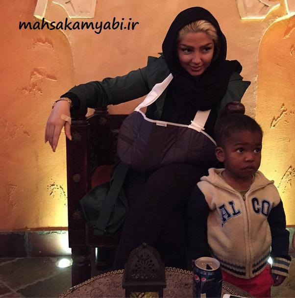 مهسا در کیش + عکس