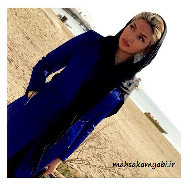 مهسا کامیابی در کیش (بهمن93) +عکس