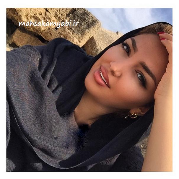 عکس زیبا از مهسا کامیابی در کیش +عکس