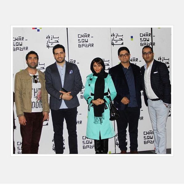 مهسا کامیابی در افتتاح سینما +عکس