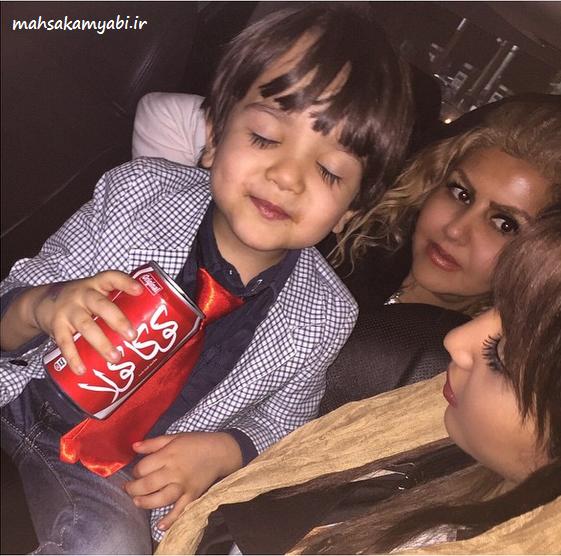 مهسا کامیابی و مادرش و امیرحسین +عکس