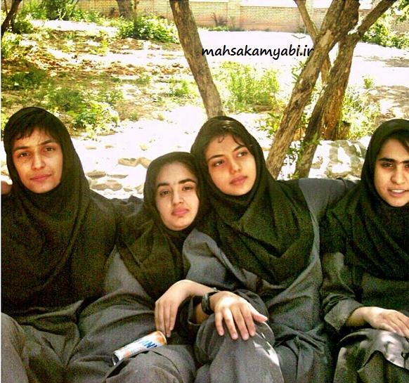 عکس مهساکامیابی در دوران دبیرستان