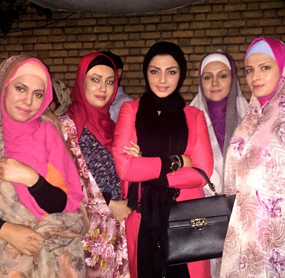 مهسا کامیابی سر فیلم جدید در تبریز +عکس