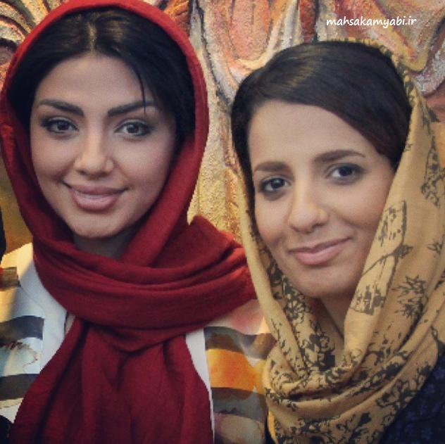 مهساکامیابی و پونه در تبریز |عکس