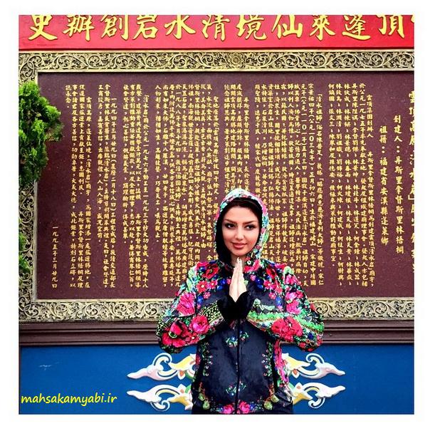 مهسا کامیابی در سفرنورزی به مالزی +عکس